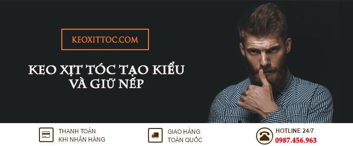 Banner Keo xịt tóc tạo kiểu
